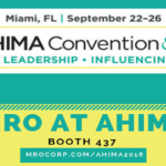 MRO at the 90th Annual AHIMA Convention and Exhibit in Miami, FL