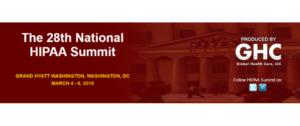 National HIPAA Summit