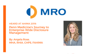 MRO Corp. Health Data & Information Conference