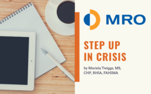 Step Up in Crisis by Mariela Twiggs