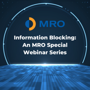 An MRO Special Webinar Series