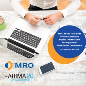 MRO at AHIMA20
